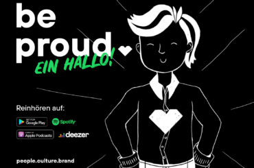 Be Proud-Podcast startet!